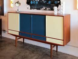 danish modern teak sideboard with bar danish modern teak and bar