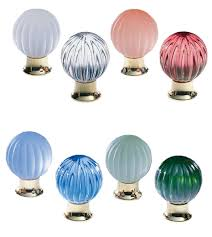 colored glass cabinet knobs globe colored glass cabinet knob omnia 4405 doorware com
