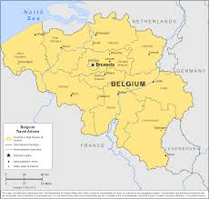 map of begium smartraveller gov au belgium