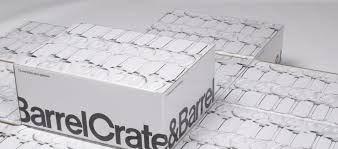 environmentally friendly packaging crate and barrel