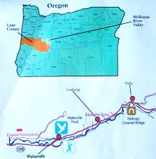 Oregon River Map by Mckenzieriverretreat Blog Mckenzie River Getaway