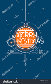 merry seasons greetings happy new stock vector 529030780