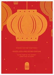 lunar new year photo cards lunar new year cards online at paperless post