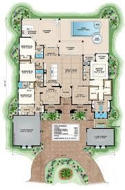 mediterranean floor plans mediterranean house plans luxury home floor with pool ara