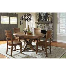 Dining Room Sets In Ct 66 Inch Canyon Pedestal Table Bare Wood Fine Wood Furniture