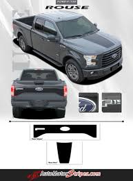 2015 2017 ford f 150 rig hood and tailgate blackout vinyl decal 3m