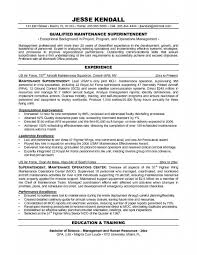 Air Force Resume Samples by Maintenance Resume Sample U2013 Resume Examples