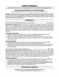 apartment maintenance technician resume templates building format