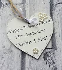 1st wedding anniversary gift personalised handmade 1st wedding anniversary gift present wooden