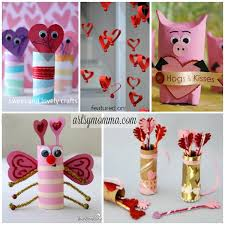 24 sweet cardboard s day crafts