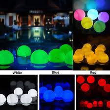 floating pool ball lights floating lights ebay
