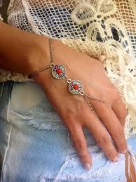 ring bracelet chain silver images 93 best ring bracelets images ring bracelet slave jpg
