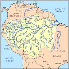 Colorado River On A Map by Amazon Basin Wikipedia