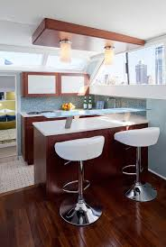 Interior Design Companies In Chicago by Chicago Dark Wood Floors In Kitchen Contemporary With Yacht