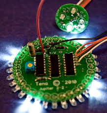led sequencer for inch jupiter polar lights model photo by