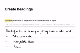 nebo the best way to take notes myscript