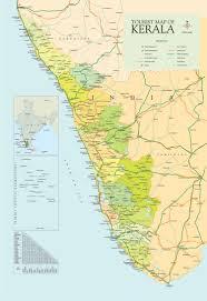 Map India Kerala Map India
