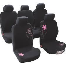 housse siege voiture housses de siège voiture adaptables fleurs taille 4 custo magic