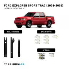 Ford Explorer Sport - ford explorer sport premium led interior lighting package 2005