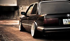 bmw e30 stanced bmw e30 325si black bmw black stance hd wallpaper