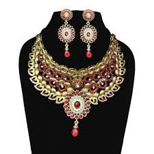 fashion necklace sets images Long rani haar necklace set necklace sets shopcj jpg