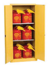 Yellow Flammable Storage Cabinet Airgas E421962sc12 Eagle 60 Gallon Yellow 18 Steel