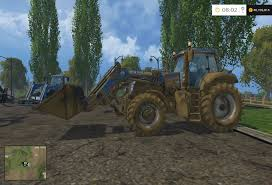 new holland t8 320 with front loader attachment u0026 large loaders