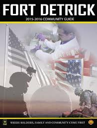 Ft Detrick Map 2015 Detrick Base Guide By Dcmilitary Com Issuu