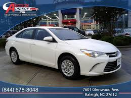 toyota car prices in usa used toyota camry at auction direct usa