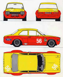ford escort mexico u0026 rs 1600 mk1 custom pack 1971 72 uk market