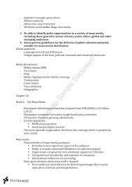 mktg3119 public relations management final study notes mktg3119