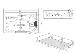 Dimensioni Vasca Da Bagno Angolare by Box Doccia It Vasca Idromassaggio 168x85 Mod Space 7 Online