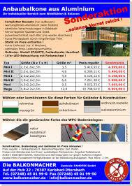 balkon bauen kosten balkonkonfigurator