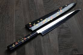 Japanese Folded Steel Kitchen Knives - yoshihiro cutlery premium japanese chef knives