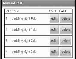 xamarin android table layout android tablelayout row padding stack overflow