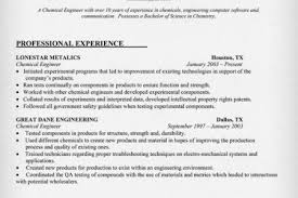 Chemical Engineer Resume Examples by Free Resume Templates Download Entry Level Resume Template