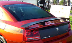 dodge charger hemi 2006 dodge charger hemi r t painted rear spoiler 2006 2007 2008