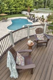 Amazing Backyard Pools by Kitchen Backyard Deck Design Pertaining To Stunning Deck Design
