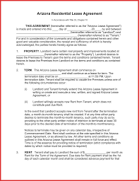 fresh arizona residential lease agreement excuse letter
