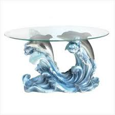 dolphin table with glass top sitedelux malinda s new house pinterest bottlenose dolphin and
