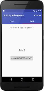 activity android android activity to fragment communication truiton