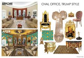 oval office trump style my inauguration gift to donald u0026 melania