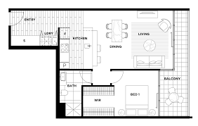 Bedroom Floorplan by Floorplans Highgate Canberra City