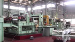 slitting line metal coil cutting machine from smc youtube