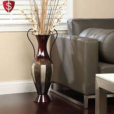 Home Decor Elegant by Tall Metal Vase Floor Decorative Elegant Living Room Home Decor