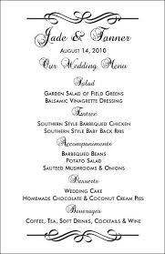 dinner menu template valo