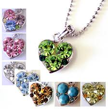 crystal heart necklace wholesale images Wholesale necklaces wholesale trendy fashion necklace jpg