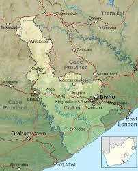 Blank Map Of South Africa Provinces by Map Of Ciskei South Africa Maps Of South Africa Pinterest