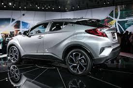 automotive toyota u s spec 2018 toyota c hr makes 2016 la auto show debut