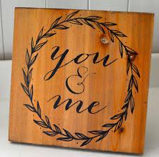 Home Decor Plaques Wedding Rustic Primitive Home Décor Plaques U0026 Signs Ebay